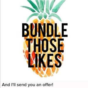 Other - BUNDLE TO GET AN OFFER